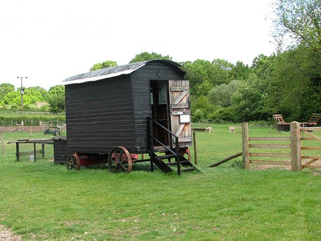 Gressenhall Farm - shepherd's hut