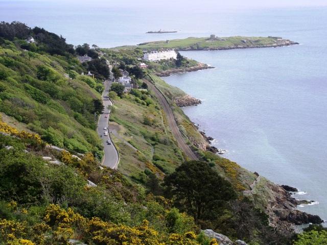 Vico Road from Killiney Hill