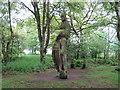 SJ7964 : Totem Pole by Jonathan Kington