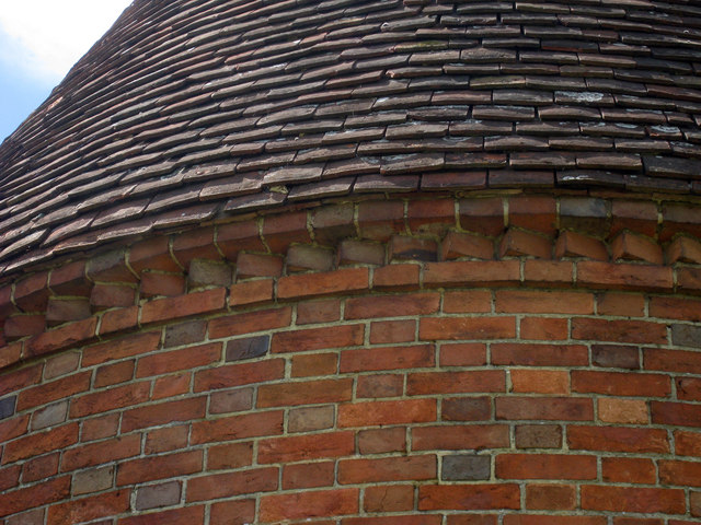 Eaves Detail on Oast House at Place Farm