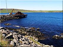 HU4545 : Metal on the pier by Stuart Wilding