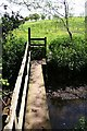 SJ6845 : Footbridge into Brookfield Golf Course by Dave Dunford