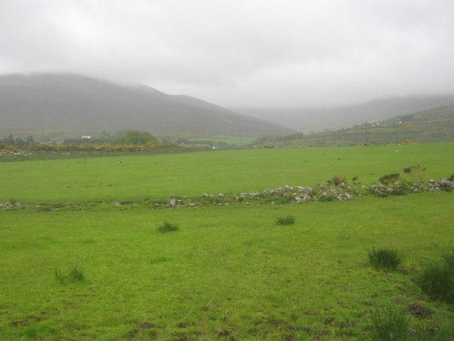 Farmland near the Finglas River