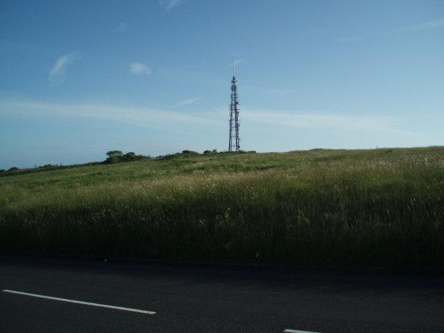 Whitehawk Hill transmitter mast