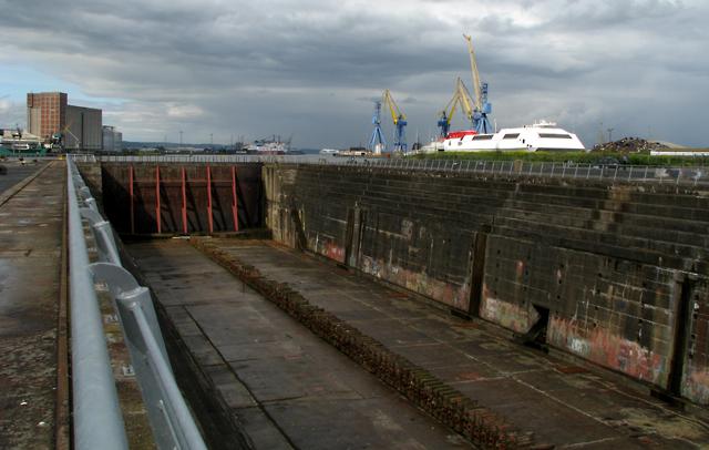 the thompson graving dock belfast rossographer geograph ireland