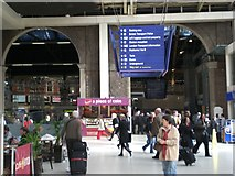 TQ2879 : Inside Victoria Railway Station SW1 by Robin Sones