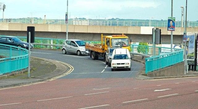 The Station Street/Bridge End flyover, Belfast (3)