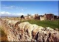 NU1241 : Lindisfarne Priory by Andy Jamieson