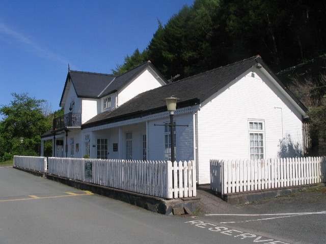 Old station building, Penmaenpool