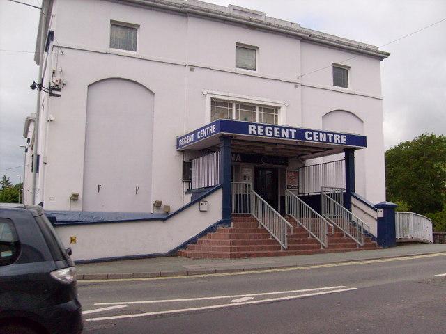 The Regent Cinema, Newtown, Powys