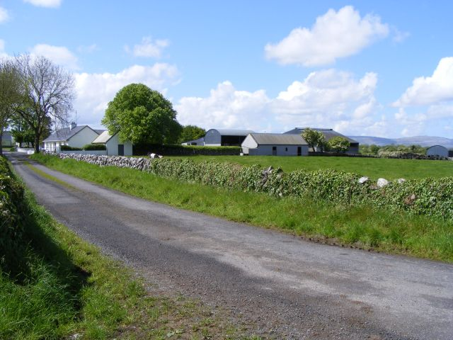 Farm buildings - Caherawoneen North Townland