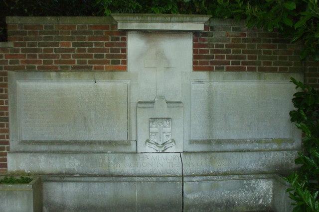 War Memorial, Putney Vale Cemetery
