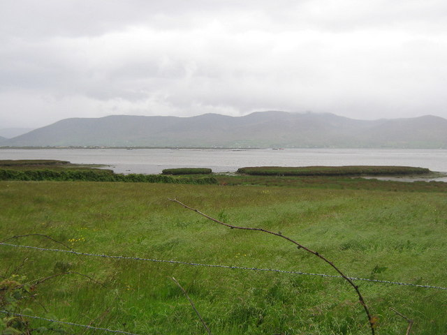 Mud flats on Dingle Bay