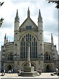 SU4829 : Winchester Cathedral by Peter Trimming