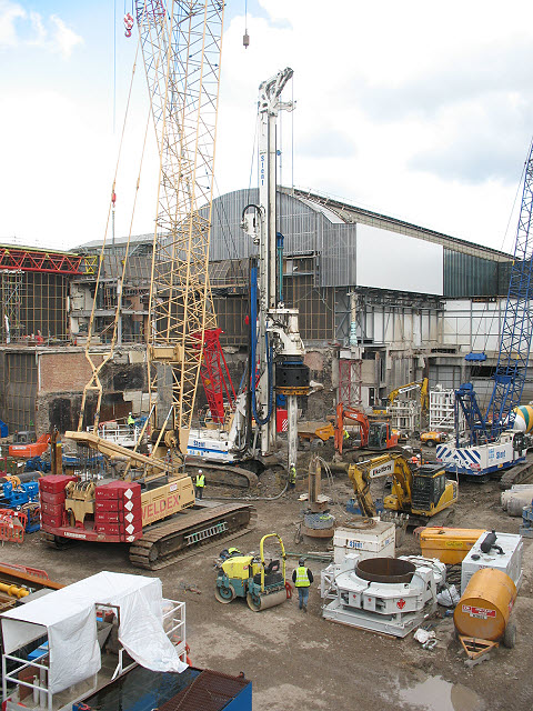 Foundations for the Shard