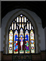 TM3569 : Window of St.Michael's Church,Peasenhall by Adrian Cable