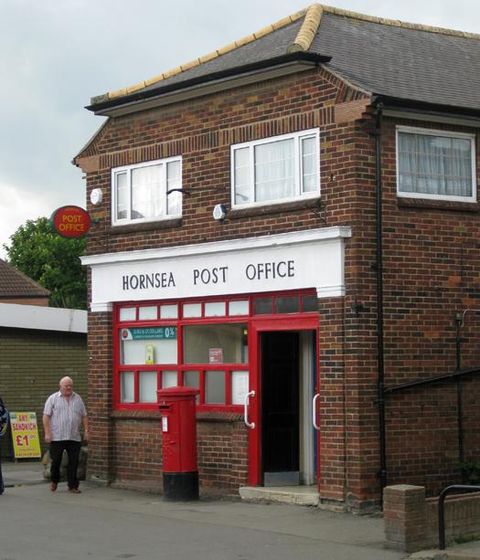 Hornsea Post Office, Newbegin
