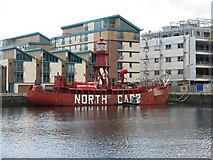 NO4030 : North Carr Lightship by M J Richardson