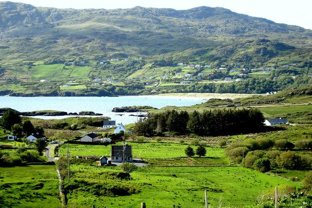 Fintragh Bay from Ferbreaga Hill