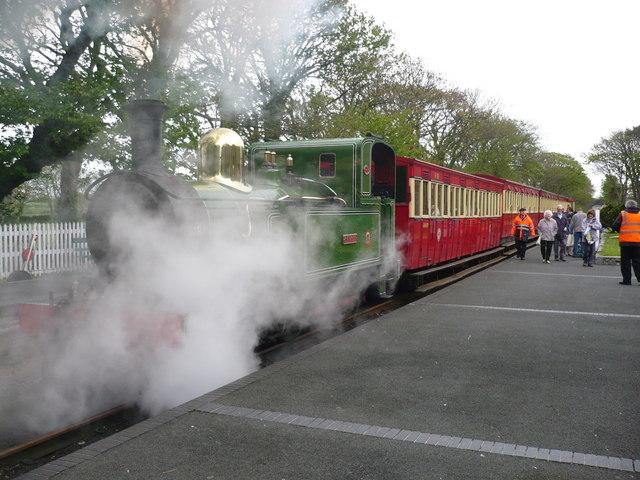 Steam Locomotive C.H. Wood