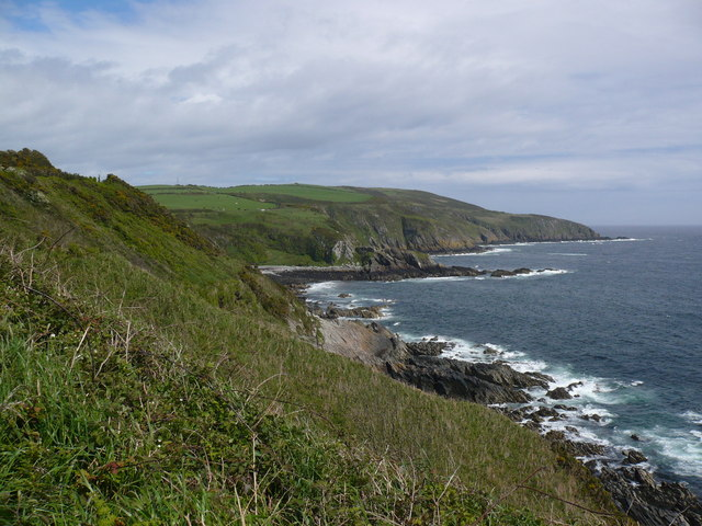 Coastline and cliffs north east of Port Soderick