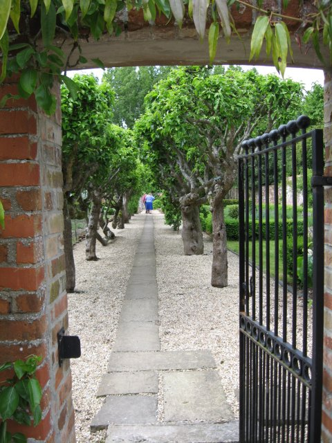 Walled garden, Old Rectory