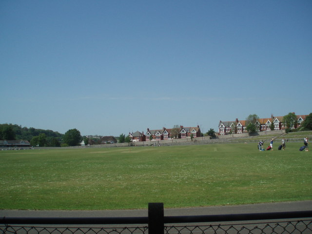 Preston Park Cycle track and cricket field