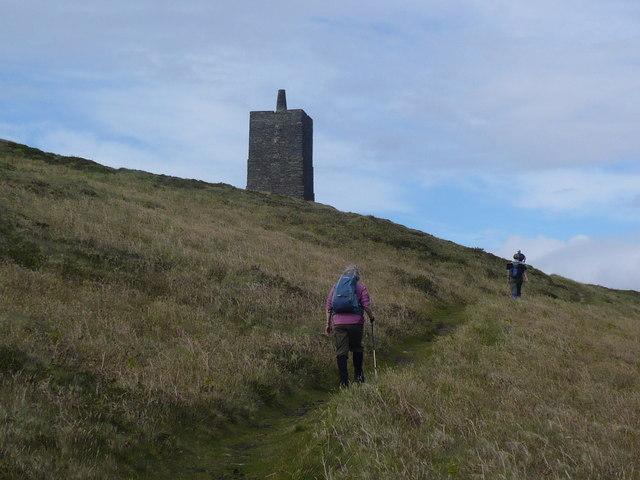 Footpath up to Corrins Tower on Corrins Hill