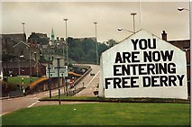 C4316 : Free Derry Corner by louise price