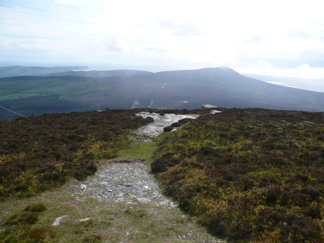 Footpath leading off South Barrule