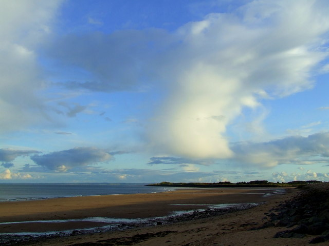Clouds over Carnoustie Bay