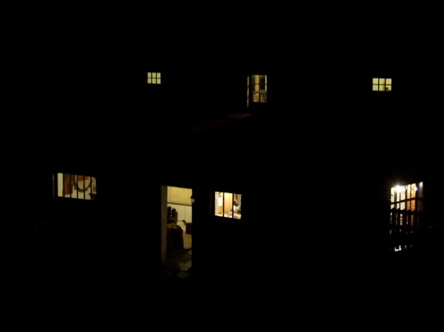 Barry Mill at night