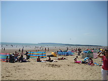 TQ9618 : Camber Sands by Stacey Harris