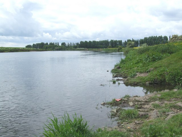 An angler's view of the Trent