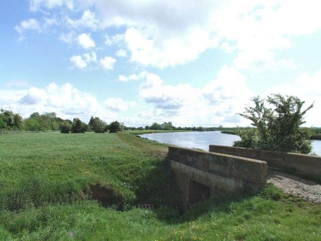 The last bridge over the Crock Dumble