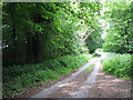 TG1426 : Lane to Bluestone Station by Evelyn Simak