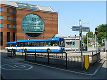 TQ2850 : Redhill Bus Station by Peter Trimming