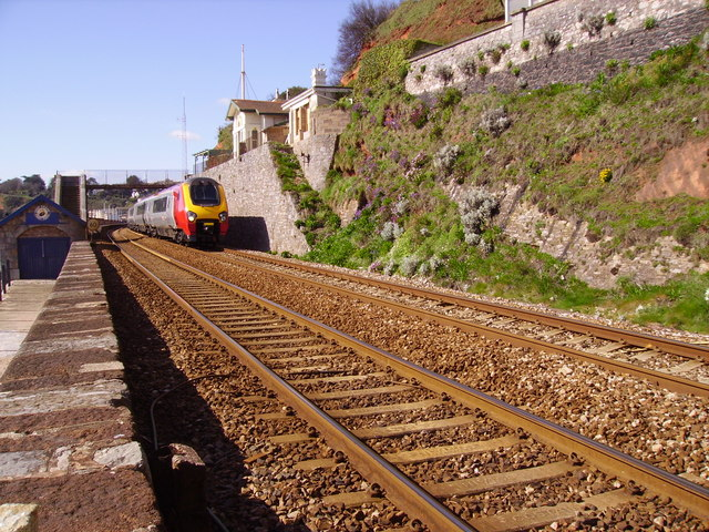 CrossCountry train at Dawlish