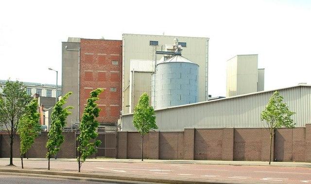 Neill's flour mill, Belfast