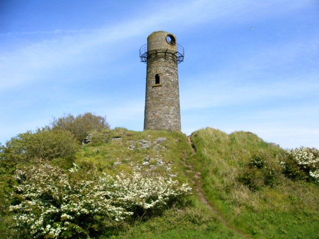 Old lighthouse at Hodbarrow Nature reserve