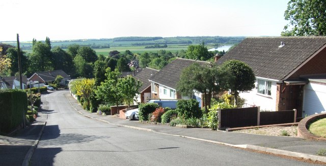 Looking over the Trent Valley from Foxhill Road
