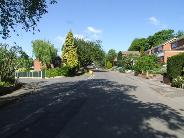 Padleys Lane junction with Covert Close