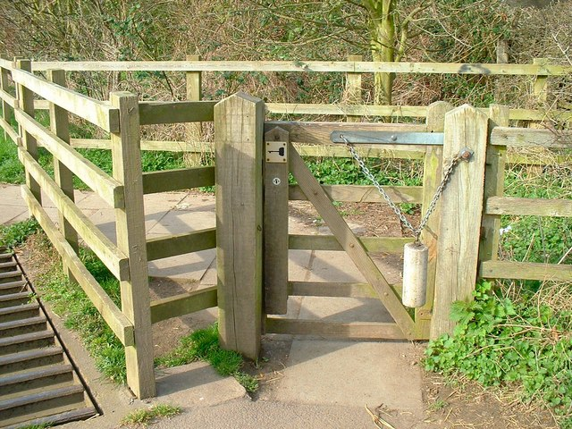 A gate by a cattle grid