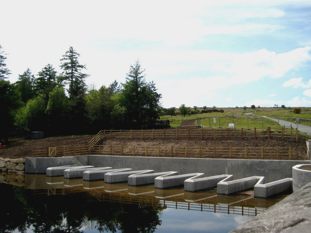 New auxiliary overflow - Venford Reservoir