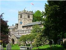 SD6592 : St Andrew's Parish Church, Sedbergh by John H Darch