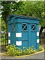 NT2473 : Police box, Rutland Square by kim traynor