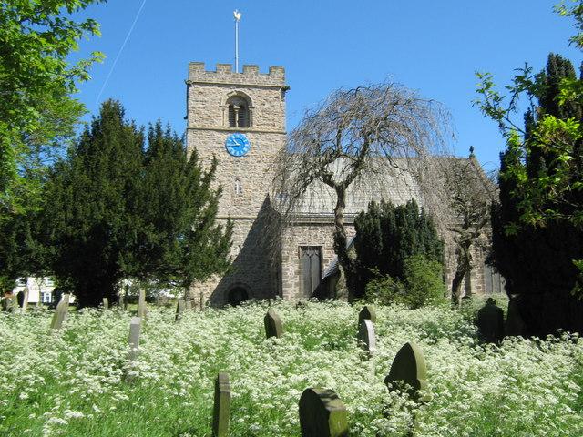 St Michael's Church and churchyard, Heighington