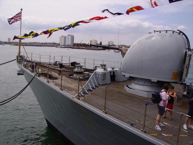 HMS Argyll at Portsmouth