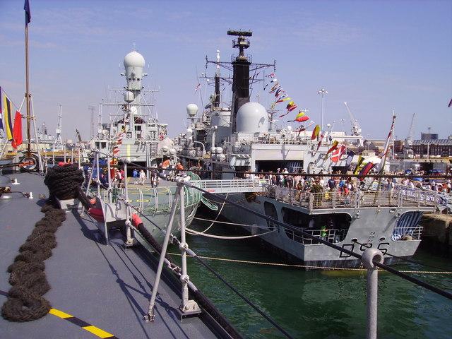 HMS Gloucester at Meet Your Navy weekend