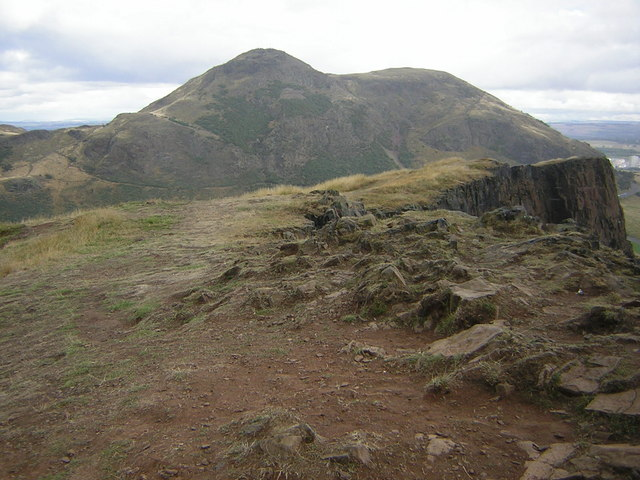 Arthur's Seat from Salisbury Crags